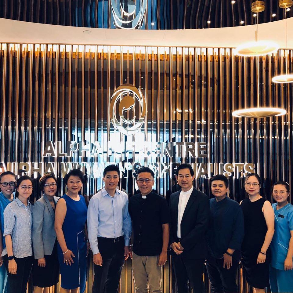 ALPHA IVF SINGAPORE TEAM